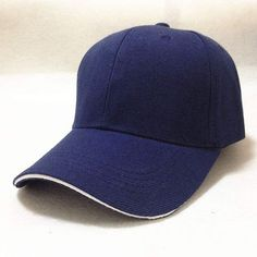 7d1668f0a45 Working Caps Solid Baseball Cap Wholesale Trucker Snapback Hat Fitted Cheap  Cap Classic Sunscreen Golf Hats