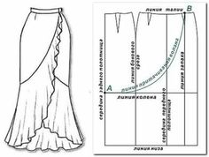 Sewing drawing pattern drafting ideas for 2019 Sewing Dress, Dress Sewing Patterns, Sewing Patterns Free, Free Sewing, Sewing Clothes, Clothing Patterns, Diy Clothes, Skirt Patterns, Free Pattern