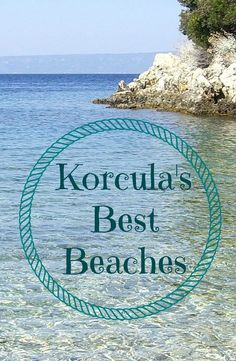 Beautiful beaches and secluded bays. Here's some of our favourite beaches on Korcula Island.  #korcula #explorekorcula