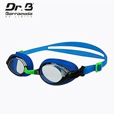 Corrective Barracuda Dr.B Optical Swim Goggle RX Long-sighted with 3 Nose Pieces Anti-Fog UV Protection Comfortable No Leaking Easy Adjusting for Adults Men Women #92295