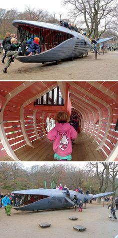 parques infantiles daneses. Lo más en diseño