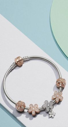 Pandora Jewelry OFF!>> Bring lace to life in stylish stacks. Load up on the sculptural lines of the new lace-inspired charm bracelets with hearts and stones to create powerful stacks of Renaissance-inspired style. Pandora Leather Bracelet, Pandora Bracelet Charms, Pandora Jewelry, Silver Bracelets, Sterling Silver Necklaces, Silver Ring, Silver Earrings, Pandora Bangle, Earrings Uk