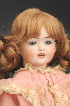 September 21 Doll Auction: Lot # 288 | Wonderful H.S. & Co. 141 Character Doll #MorphyAuctions Schmidt, September 21, Madame Alexander, French Fashion, Antique Dolls, German, Auction, Houses, Dreams