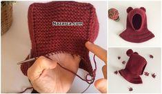 fully sized children to do Knitting Blogs, Baby Hats Knitting, Knitting For Kids, Baby Knitting Patterns, Knitting Projects, Hand Knitting, Knitted Hats, Crochet Baby, Free Crochet