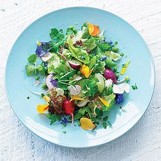 Eat-Your-Garden Salad - Best Green Salad Recipes- Sunset