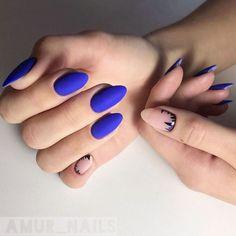 22 Najlepsze Obrazy Z Kategorii Kobaltowy Manicure 2018 Granatowe