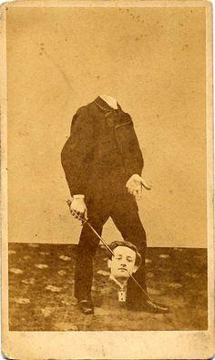 Des vieux portraits de gens décapités vieux portrait sans tete decapite 12 photographie histoire bonus