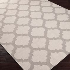 Frontier Moroccan Ivory & Grey Hand Woven Wool Rug