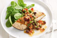 Kingfish: 20 minutes is all it takes to create this delicious and tasty meal.