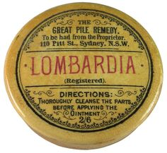 Lombardia. Great pile remedy.