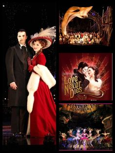 Love Never Dies. Movie version. Some things are better. Some are much worse. But hey, I still love it.