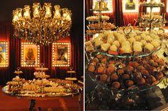 Decoração festa 15 anos - Mesa de doces (Decoração: Alencar Ferreira | Foto: Amanda Dias)