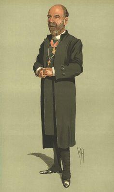 VANITY FAIR SPY CARTOON. The Rt Rev Herbert Edward Ryle 'the Dean'. Clergy. 1912