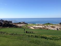 #3 at Spyglass Pebble Beach Resort, North America, Golf Courses, Spaces, Mountains, Architecture, Top, Travel, Arquitetura