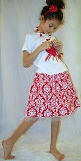 SquigglyTwigs Designs: Tuesday's Tute: Valentine's Skirt