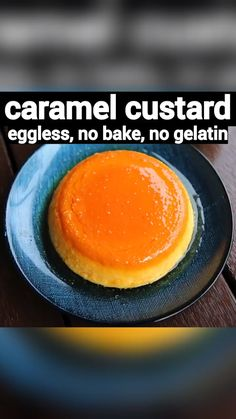 caramel custard recipe, caramel pudding recipe, caramel custard pudding with step by step photo/video. popular, creamy dessert recipe with custard powder. Caramel Custard Recipe, Custard Recipes, Custard Pudding, Custard Powder Recipes, Caramel Flan, Custard Desserts, Creme Caramel, Caramel Recipes, Eggless Recipes