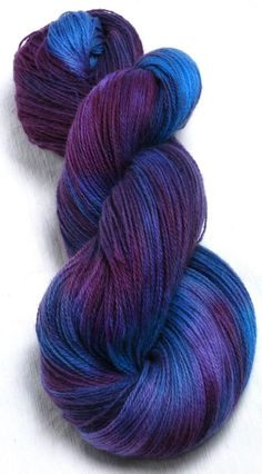 Heartsease - 100g Hand painted 2ply Laceweight angora/lambswool yarn by YummyYarnsUK on Etsy, £13.35
