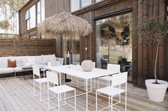 Outdoor Spaces, Outdoor Living, Wood Siding, Ikea, Home Fashion, Style At Home, Garden Furniture, Boho Decor, New Homes