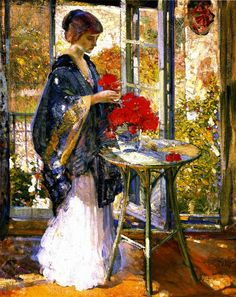 Morning Sunlight - Richard Emil Miller 1875-1943