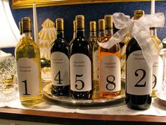 Here's an easy-to-make adult advent calendar everyone can drink to. Pick out 24 special wines and add a personalized label for each day. For an extra special touch, use Avery Arched Labels (22826) and personalize with free holiday designs and templates from Avery Design & Print Online.