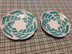 PAREJA PLATOS DEL CASTRO SARGADELOS (Vintage - Decoración - Porcelanas y Cerámicas)