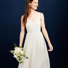 This Is Exactly What I Want Simple Understated Classy Wish Could Go Try It On Right Now JCrew Percy Gown