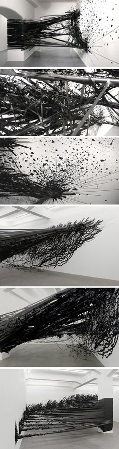 Installation Aerial par Monika Grzymala - Journal du Design