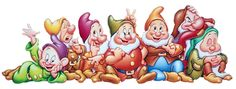Free Disney Snow White Dwarfs Clipart and Disney Animated Gifs - Disney Graphic Characters Brought to You by Triplets And Us