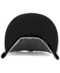 New Era New York Yankees Heather Black White 59FIFTY Fitted Cap - Gray 7 3/8