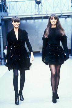 80s And 90s Fashion, Fashion Week, Fashion Brand, Fashion Design, Linda Evangelista, Original Supermodels, Paris Girl, Azzedine Alaia, Rock Chic