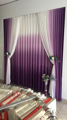 Curtains Cute Curtains, Elegant Curtains, Hanging Curtains, Curtains With Blinds, Curtains Living, Modern Moroccan Decor, Romantic Bedroom Design, Rideaux Design, Living Room Decor