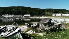 Retired boats. Rathlin Island. #my own #S.Campbell