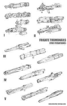 Frigate Thumbnail Concepts by MikeDoscher on DeviantArt