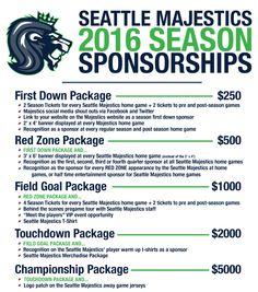 Sponsorship proposal package template