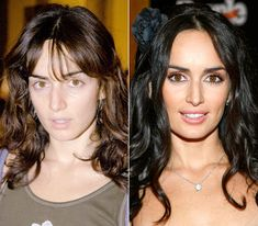 Ana de la Reguera STARS BEFORE & AFTER MAKE UP