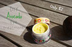 DIY Avocado Eye Cream {inspired by Kiehl's Eye Treatment} | The Makeup Dummy Etude House, Anti Aging, Dry Eyes Causes, Homemade Eye Cream, Anti Ride, Health App, Eye Treatment, Skin Cream, Diy Beauty