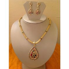 Beautiful Kundan Gold Plated Necklace for Sale