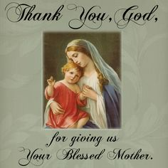 Thank You, Heavenly Father for Mother Mary Mother Mary Quotes, Blessed Mother Mary, Blessed Virgin Mary, Mary And Jesus, God Jesus, Jesus Christ, Images Of Mary, Mama Mary, Immaculate Conception