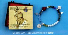 27 aprile 2014. Papa Giovanni Paolo II Santo.  http://www.ovunqueproteggimi.com/speciale-bracciali/
