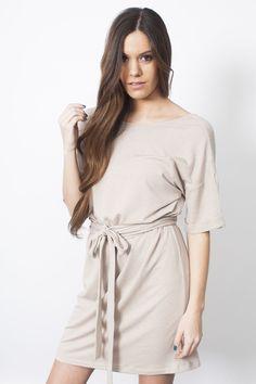 Emmi Dress - Taupe