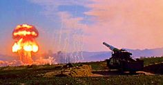 Watch Atomic Annie, The Nuclear Artillery Cannon, Fire A Nuclear Shell