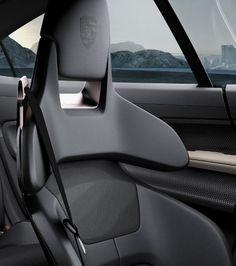 Porsche Mission-E seat