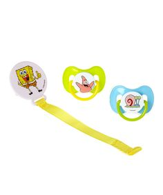 Look at this SpongeBob SquarePants Pacifier & Holder Set on #zulily today!