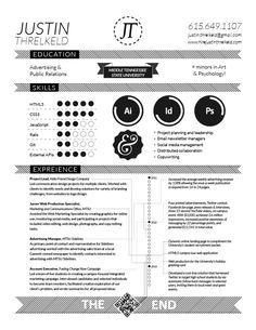 Really like the skills section and subtle measurement included. #resume #design
