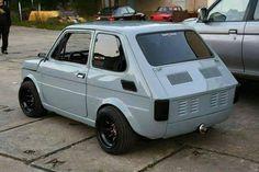 Fiat 127 Corse - ca c'est cochon!