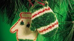 These pretty sugar cookies are a classic addition to the holiday cookie tray.  They make great decorations, too!