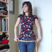 """Seven Essential Sewing Skills"": prewash fabric, take your measurements, press, seam finish focus, etc."
