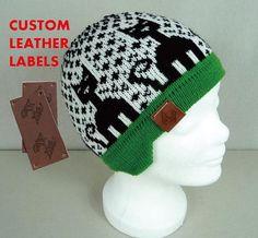 dc961dea049 49 Best Custom PU Leather Labels images