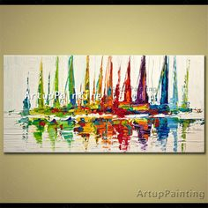 Find More Painting & Calligraphy Information about Hand painted canvas oil paintings abstract oil painting huge modern abstract oil painting boat ship sailing 7,High Quality painting pino,China painting requirements Suppliers, Cheap painting boots from ArtupPainting on Aliexpress.com