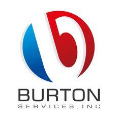 BURTON SERVICES - #Logo_Design